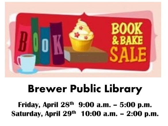 2017 April Book and Bake Sale