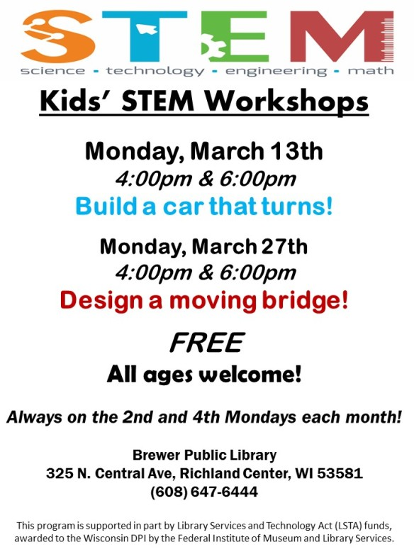 2017 March STEM Fall Flyer-Both Programs-Highlighted