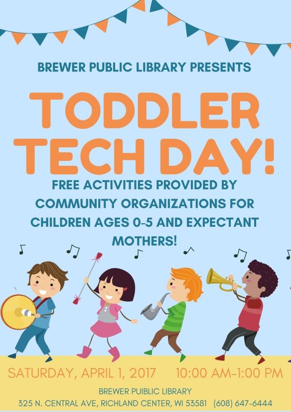 Toddler Tech Days