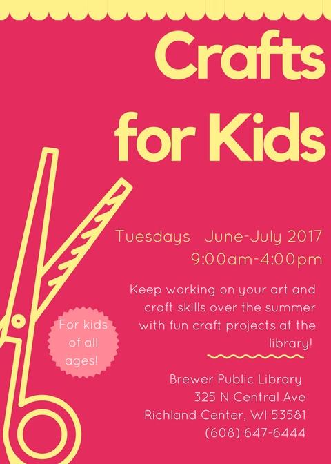 Crafts for Kids Summer 2017