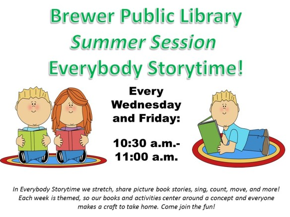 Everybody Storytime-Summer Session