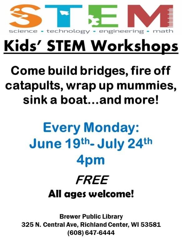 Summer STEM Poster