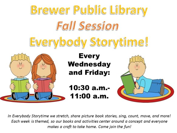 Fall Session Everybody Storytime