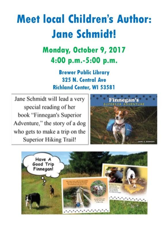 10 09 2017 Jane Schmidt Book Presentaiton