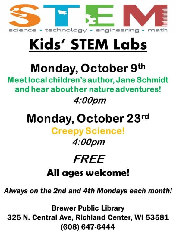 2017 October STEM both programs highlighted